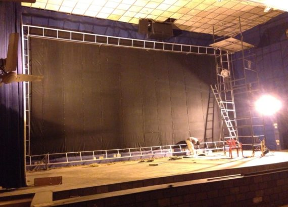 Auditorium Works Work