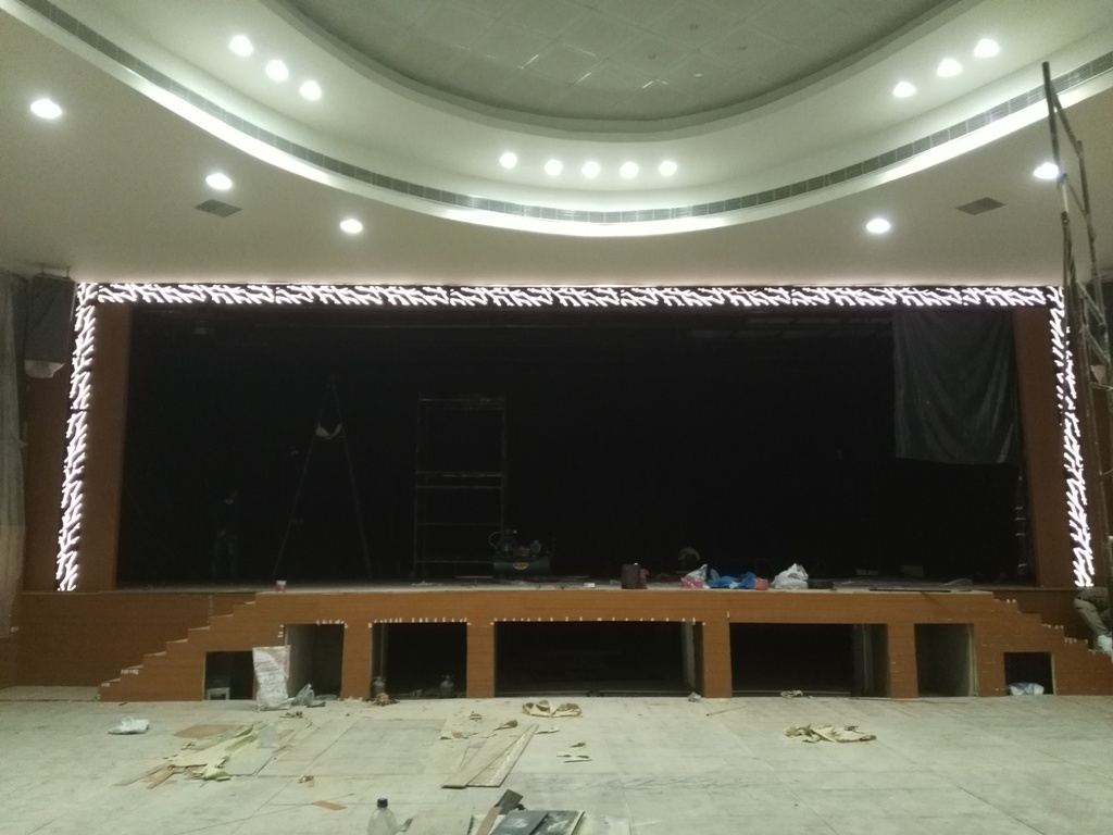 Anees school auditorium
